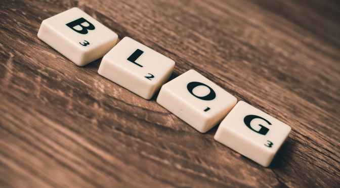 Why a blog site with lots of content will help me get my first full-time job after college.